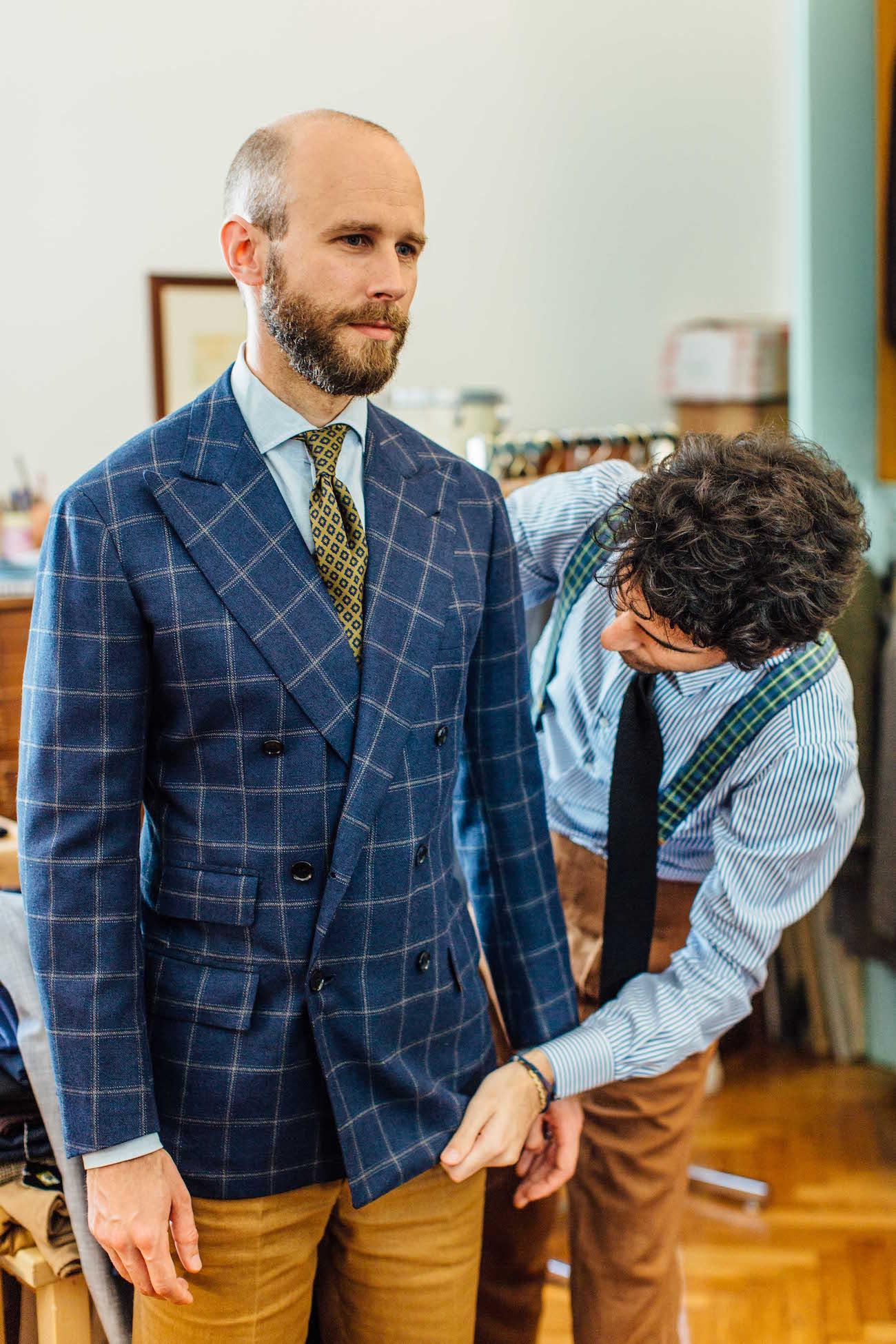 Suit-tailor